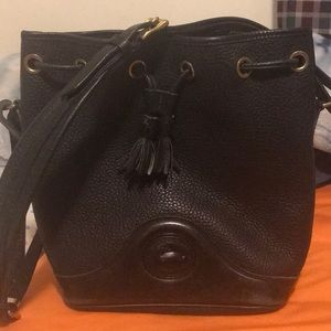 Dooney and Bourke black large bag